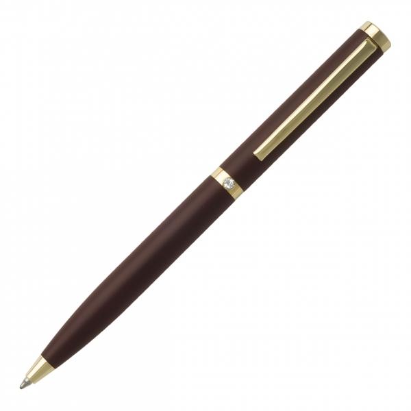 Ручка металлическая в футляре Strass Burgundy
