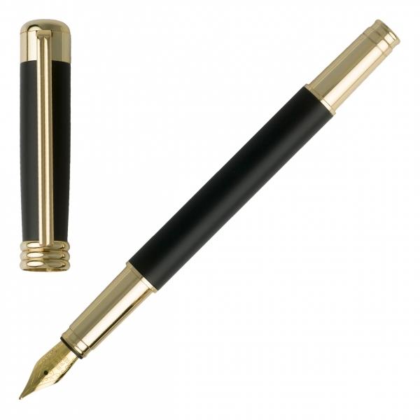 Ручка перьевая в футляре Boucle Noir