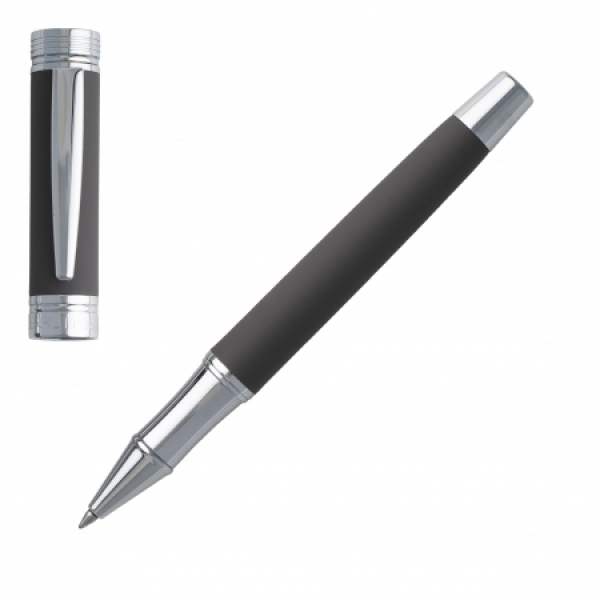 Ручка роллер металлическая Zoom Soft Taupe