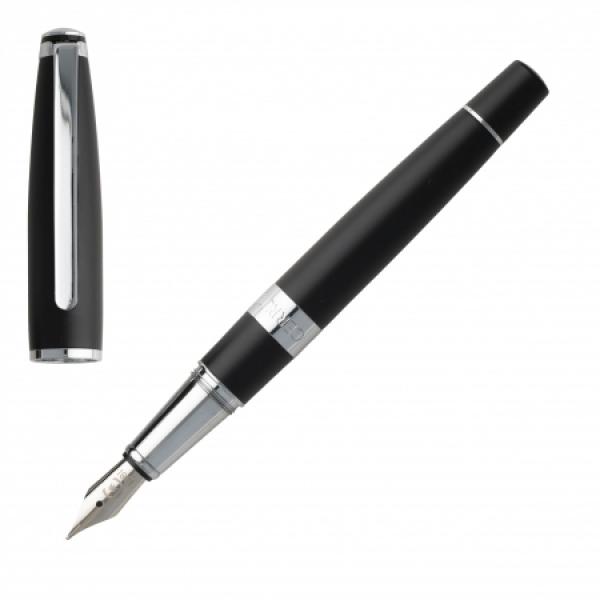 Ручка металлическая перьевая Bicolore Black